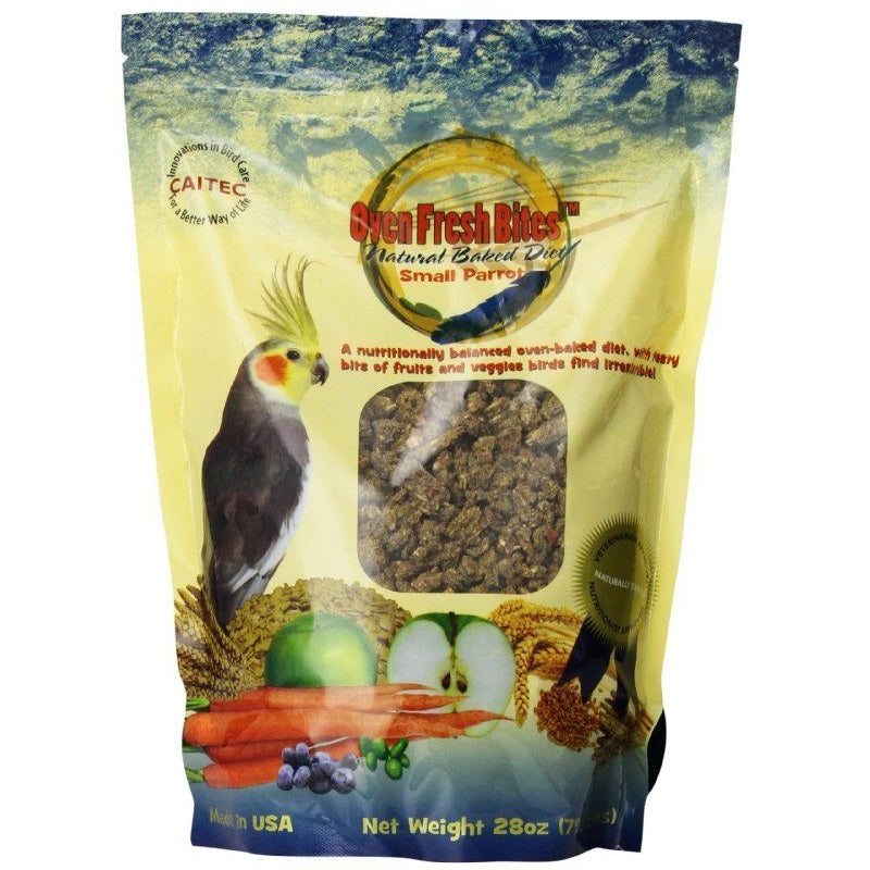 Oven Fresh Bites Baked Avian Diet - Small Parrot, 28 oz