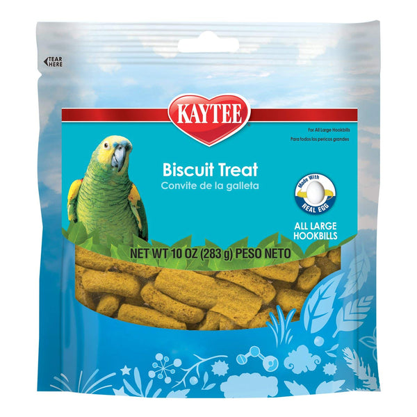 Kaytee Forti-Diet Pro Health Parrot Biscuits, 10 oz