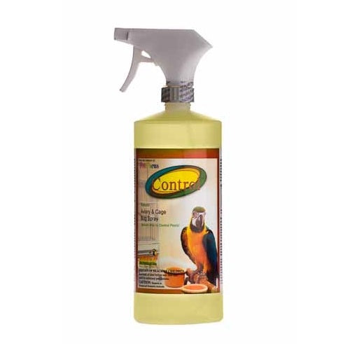 Control Natural Aviary & Cage Bug Spray, 1 Qt