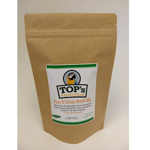TOP's Premium Birdie Bread Mix, Peas and Carrots, 1.35 lbs