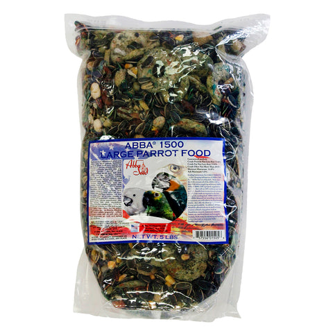 ABBA 1500 Large Parrot Food 5lb