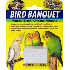 Zoo Med Bird Banquet Mineral Treat, Small