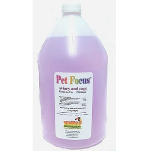 Pet Focus Aviary and Cage Cleaner - Ready to use, 1 Gal