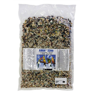 ABBA 2200 Heavenly Hookbill Fruit and Nut Treat Cockatiels 5 lb