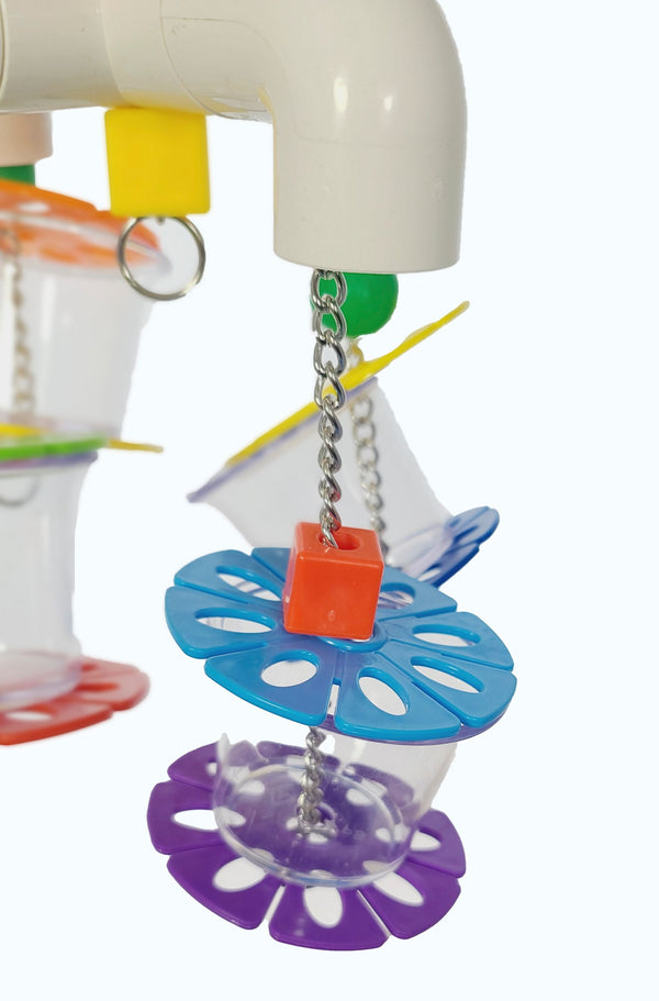 Foraging Cups Parrot Toy