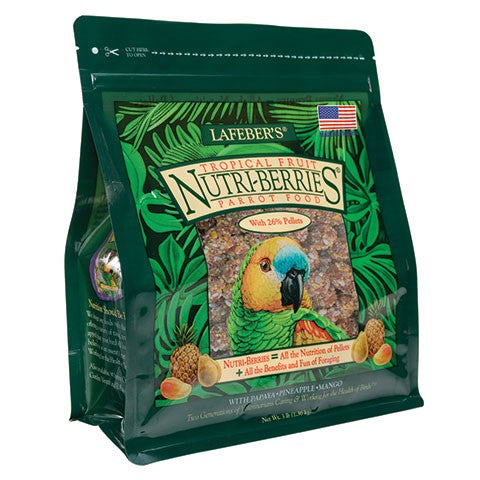 Lafeber's Nutri-Berries Tropical Fruit Parrot 3lb