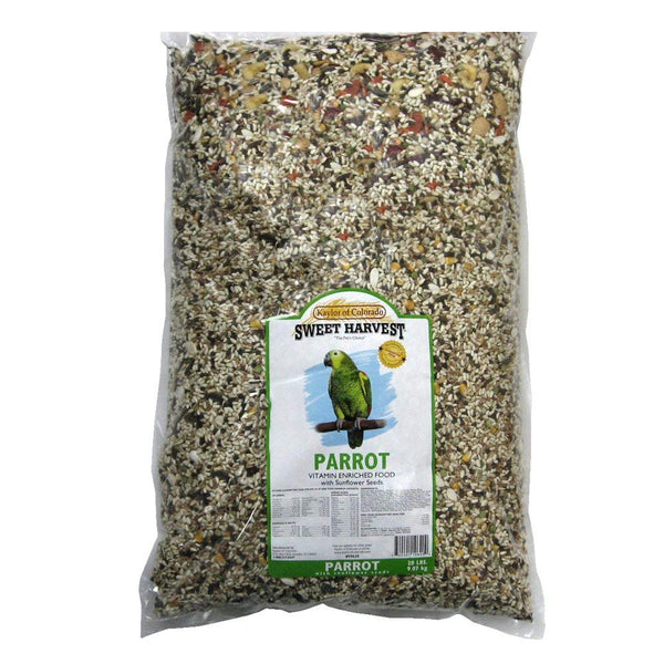 Sweet Harvest Parrot Food With Sunflower 20 lb