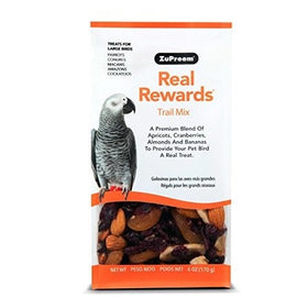 6oz Trail Mix Large Zupreem Real Rewards