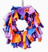 Avian Specialties Bird ToysRag-A-Wreath, Medium