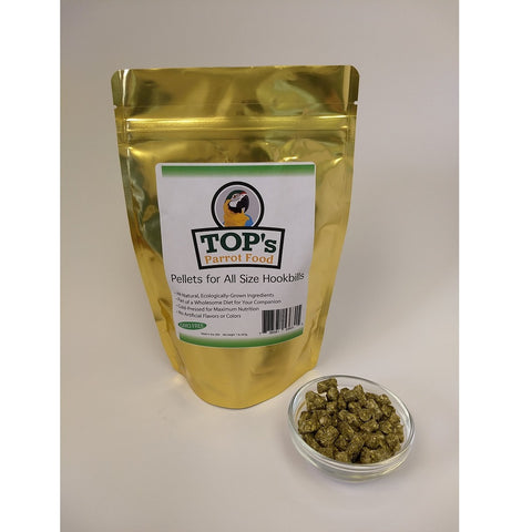 TOP's Parrot Pellets for All Size Hookbills, 4 lbs