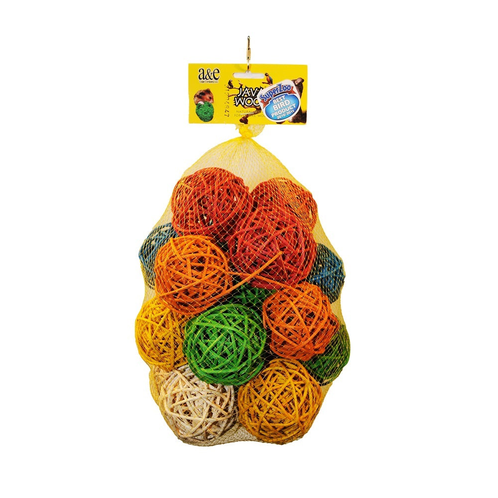 Medium Ball Hive Bird Toy - 25 Pcs