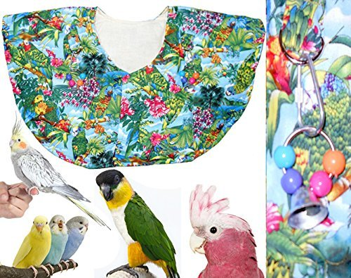 Bird Shoulder Cape - Colorful Jungle Theme