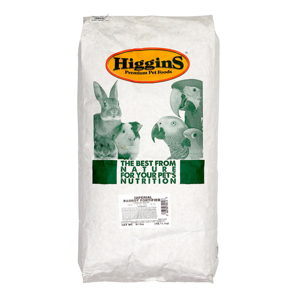 Higgins Imperial Parrot Bird Food, 40 lbs