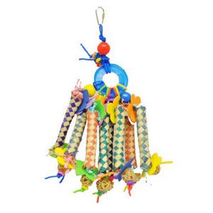 Chinese Finger Trap Bird Toy