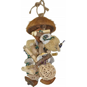 Java Wood Java Bush Bird Toy Large