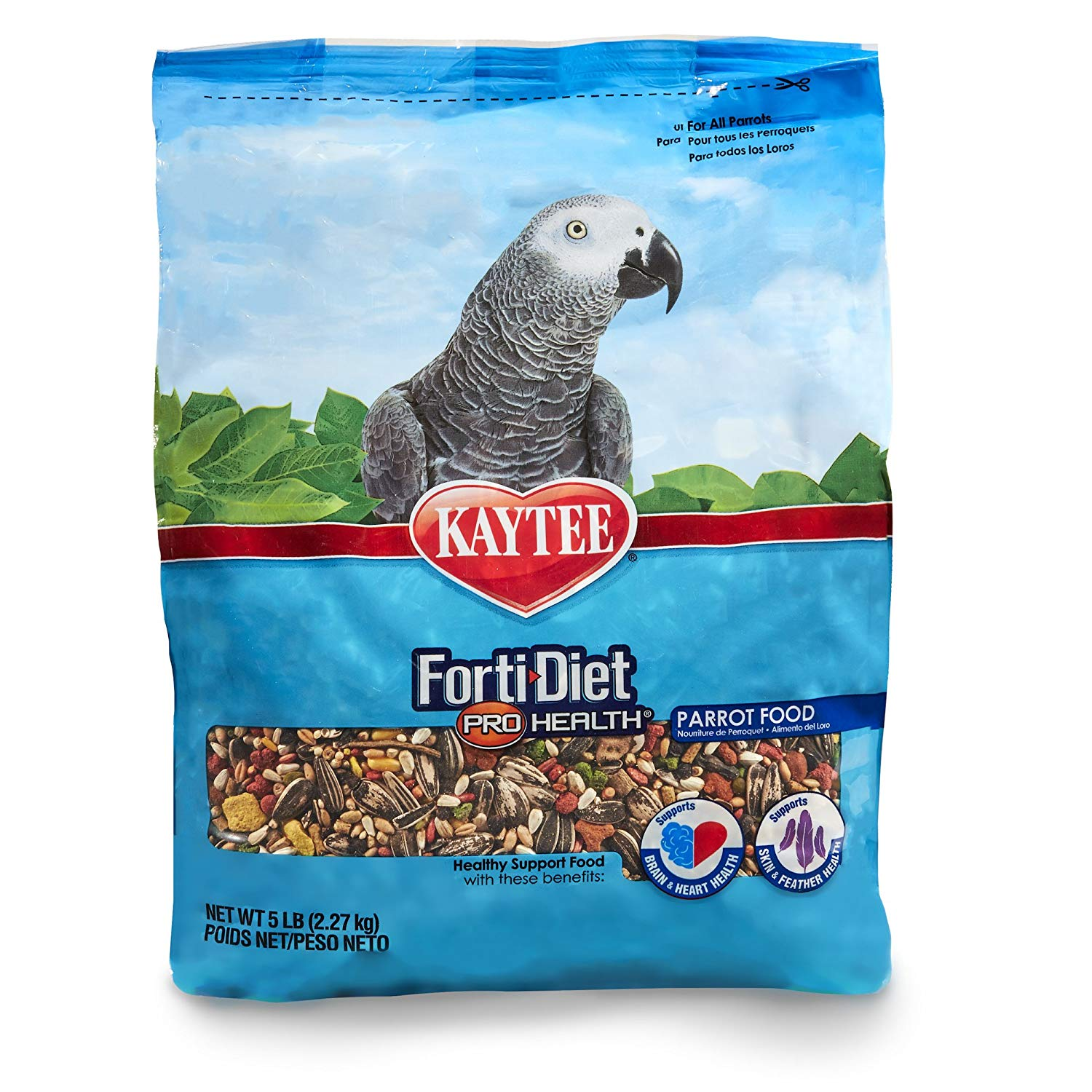 Kaytee Forti-Diet Forti Pro Health Parrot, 5 lbs