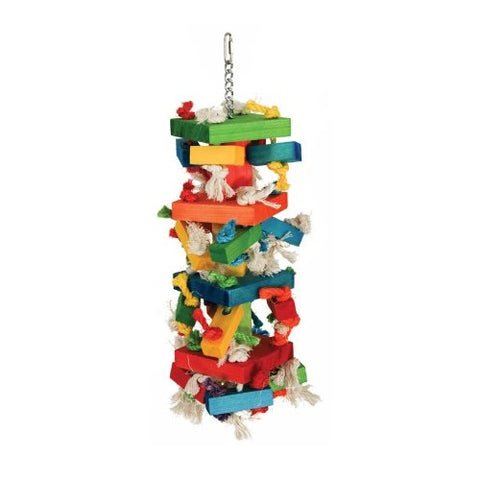 Knots 'n Blocks Bird Toy