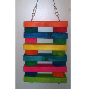 Graham's Macaw Ladder Bird Toy