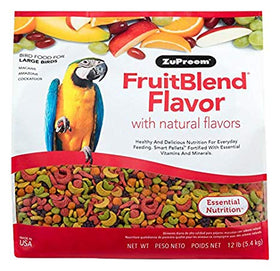 Zupreem FruitBlend Diet for Large Birds, 12 lbs
