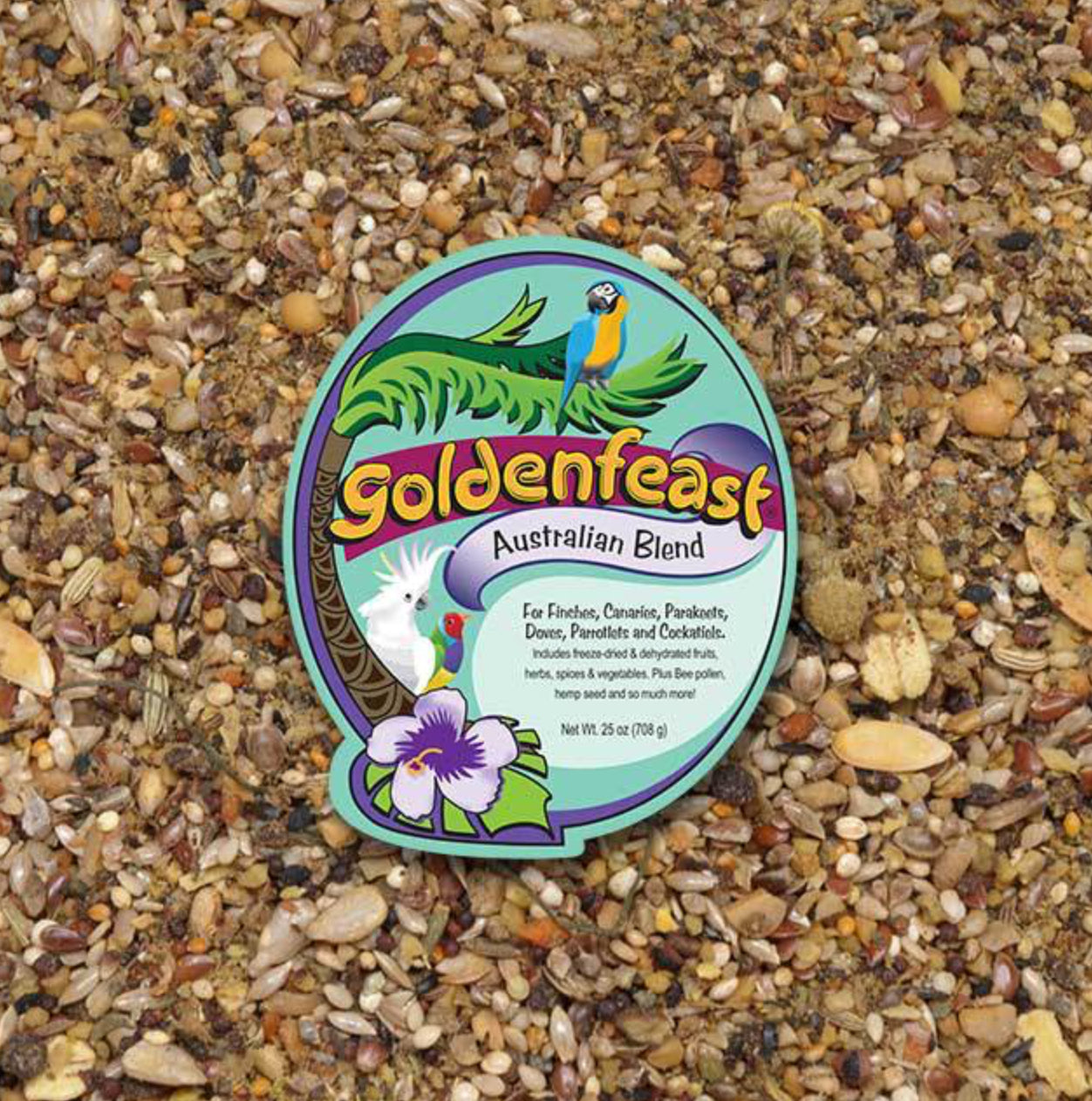 Australian Small Hookbill Goldenfeast Blend