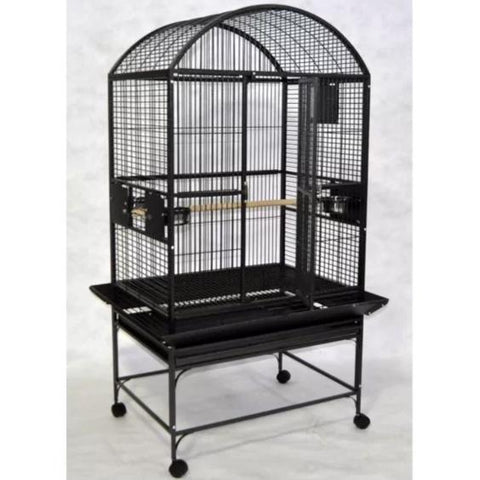 "32""x23"" Dometop Cage, Black"