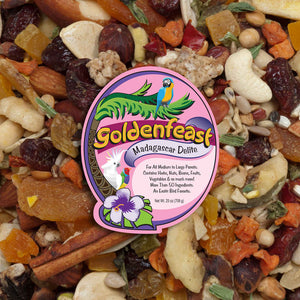 Goldenfeast Madagascar Delite Bird Food, 11 lbs