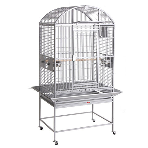 "32""x23"" Dometop Cage, White"