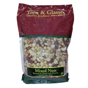 Torn & Glasser Mixed Nuts, 50 lbs