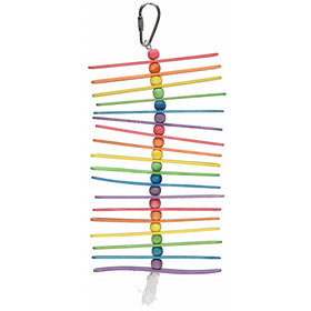 Popsicle Sticks Bird Toy for Pet, Small