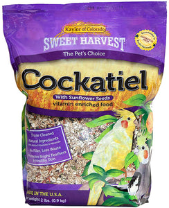 Sweet Harvest Cockatiel with Sunflower 2lb