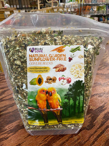 4# NATURAL GARDEN  BLEND CONURE BLEND NO SUNFLOWER