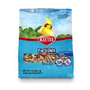 Kaytee Forti-Diet Pro Health Cockatiel Food, 2 lbs