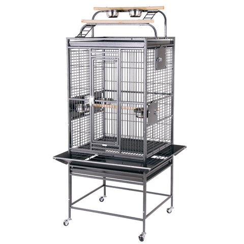 "24""x22"" Playtop Cage, Brass"