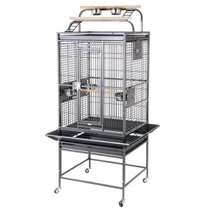 "24""x22"" Playtop Cage, Black"