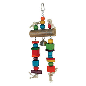 Bamboo Log Pet Toy