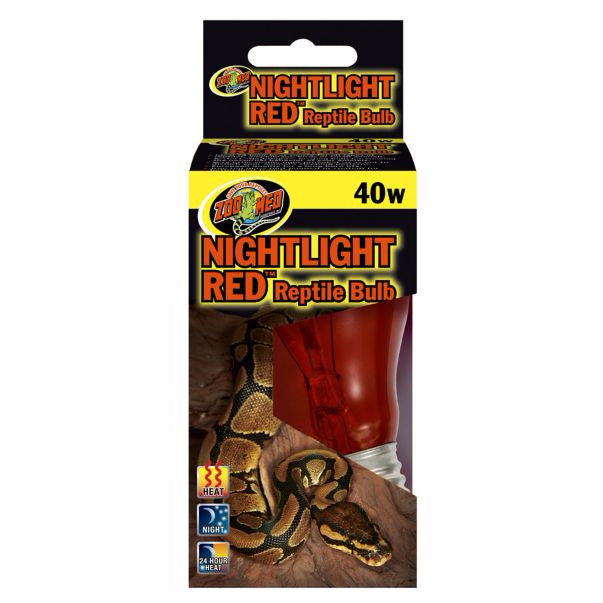 Nightlight Red Reptile Bulb, 40 watts