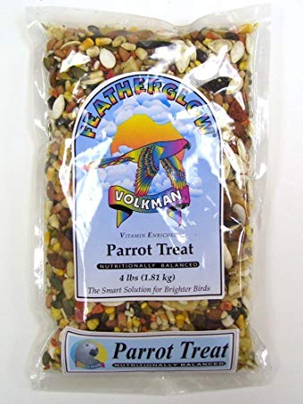 VolkmanFeatherglow Parrot Treat, 4 lbs