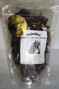Goldenfeast Whole Star Anise, 1.5 oz
