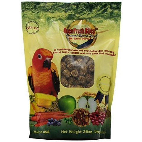 Oven Fresh Bites Baked Avian Diet -Medium Parrot, 28oz