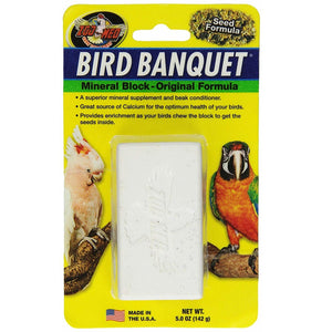 Zoo Med Bird Banquet Mineral Treat, Large