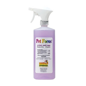 Pet Focus Aviary and Cage Ready-to-Use Cleaner, 32 oz (12/case)