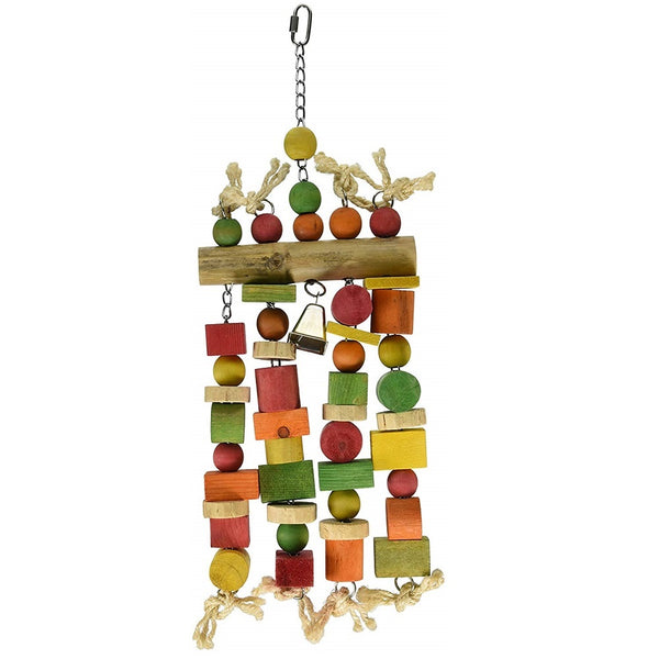 Bamboo with 4 Hanging Chains