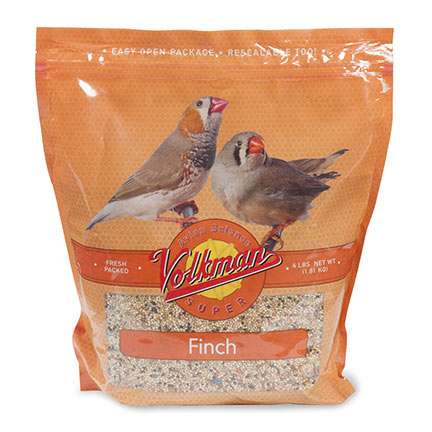 Volkman Avian Science Super Finch Food, 4 lbs