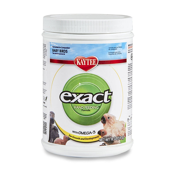 Kaytee Exact Exact Hand Feeding Formula for All Baby Birds, 18 oz