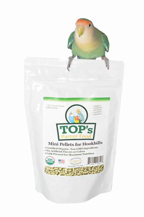 TOP's Parrot Mini Pellets, 4 lbs