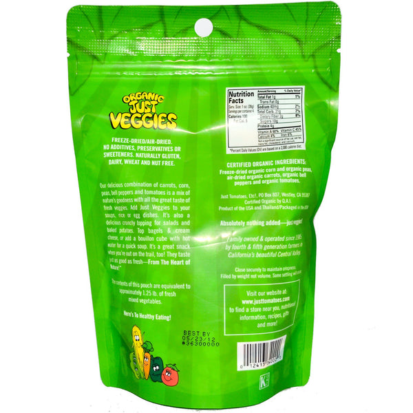 Organic Just Veggies Bird Food, 4oz