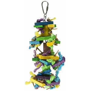 Caitec Bird Toy Mini Knots n Blocks, Small