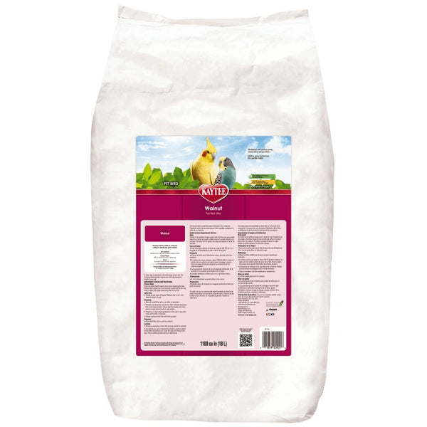 Kaytee Walnut Pet Bird Litter, 25 lbs