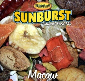 Higgins Sunburst Gourmet Food Mix for Macaws, 3 lbs