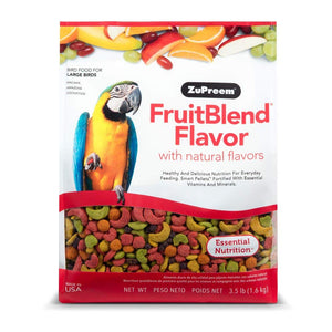 Zupreem FruitBlend Diet for Large Birds, 3.5 lbs